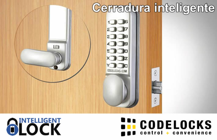 Cerradura inteligente Codelocks
