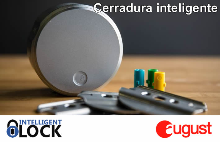 cerradura inteligente august intelligent lock