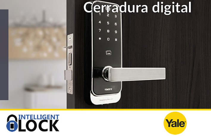cerradura digital inteligente yale intelligent lock